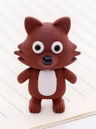 Детский <b>ластик</b> для рисования лисичка подарок первоклассника ...