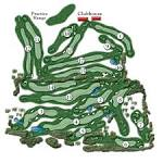 Course Layout - Whispering Pines Golf Course