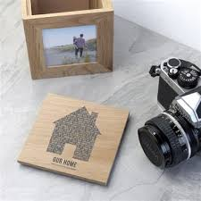 Personalised Home Wooden Photo Box