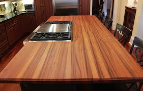sapele kitchen island top