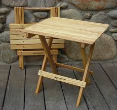 wooden folding table and chairs for lovely wood folding table plans wood folding table for your