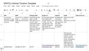 This Blank Timeline Worksheet Has A Vertical Layout And Basic