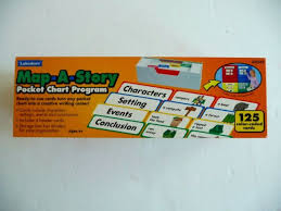 Lakeshore Map A Story Pocket Chart Program Gg542 Creative Writing Ages 6