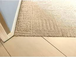 can you install carpet over tile floor