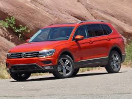 2018 volkswagen tiguan se with awd. simple awd a fullerfigured 2018 volkswagen tiguan launches into the hot compact suv  segment with added cargo space and an available thirdrow seat for volkswagen tiguan se awd