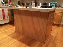 Kitchen Island Beadboard Diy Kitchen Transformation Bead Board Ground Control To Major Mom