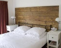 Wooden king size headboard 2