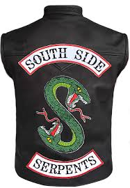 riverdale southside serpents leather vest