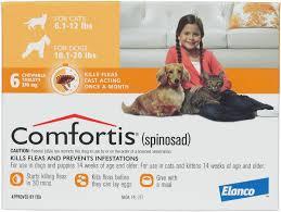 comfortis flea pill for cats. Wonderful Pill Comfortis Flea Treament Dogs U0026 Cats Dog 1020 Lbs Cat 612 To Pill For