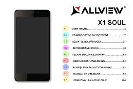 ALLVIEW X1 SOUL USER MANUAL Pdf ...