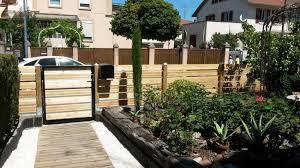 Jardin Design Cloture Bois M L Ze 6 250x150 Jardin Design