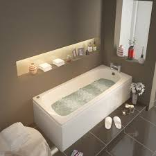 laa straight single ended 1500x700 whirlpool rectangle jacuzzi bath
