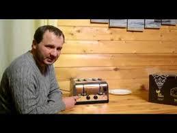 Ночной обзор <b>тостера Kitfort KT-2016</b> - YouTube