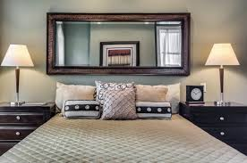 Mirror As Headboard Headboard With Mirror To The Bedroom Home Improvement  2017 For Bed