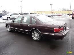 Dark Cherry Metallic 1996 Chevrolet Caprice Classic Sedan Exterior ...