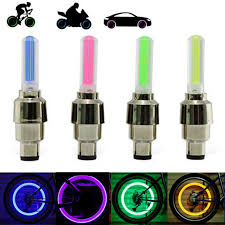 Details About 2 4 6 8 10x Flashing Led Tyre Valve Cap Lights Waterproof Car Bicycle Motorcycle