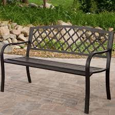 Garden Benches Metal Outdoor Bench  Metal Garden Bench Wholesale Garden Metal Bench