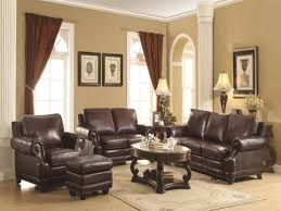traditional leather living room furniture. Living Room:Best Primitive Room Ideas With Dark Brown Leather Sofa Traditional Furniture N