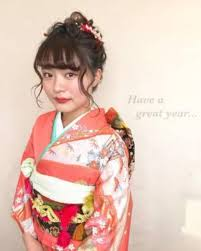 2019年版成人式卒業式に着物に合わせる可愛い髪型の決定版