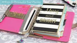Design Your Own Planner Inserts 10 Ways To Personalize Your Planner Strange Charmed