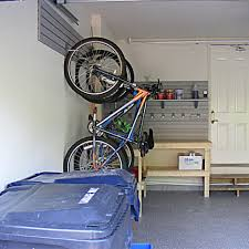 gallery for diy hanging bike rack images for garage storage ideas