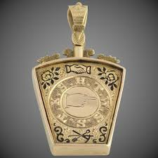 c 1886 royal arch keystone masonic fob 9k yellow gold antique wilson brothers jewelry ruby lane