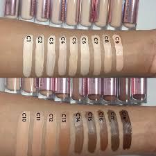 makeup revolution concealer swatches c10 makeupview co