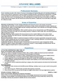 Modern Marketing Resume Modern Marketing Resume Summary Professional Senior Marketing