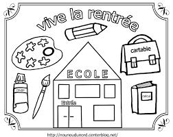 Dessin Rentr E Maternelle Imprimer 22170 Id Es Cole Coloriage Classe D Ecole Maternelle Dessin A Imprimer L