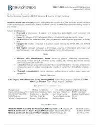 Medical Billing Resume Examples Gorgeous Medical Coding Resume Here Are Medical Billing Resume Medical Coding