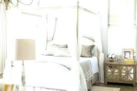 White Wood Canopy Bed White Canopy Bed Full King Size Canopy Bed ...