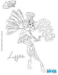 Winx Coloring Pages With Winx Club