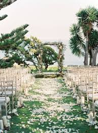 Garden Wedding Aisle Ideas