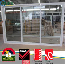 pvc sliding open style glass door and window for office pictures photos