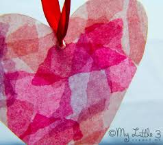 how to make a gorgeous stained glass heart