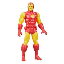 Marvel Legends 9.5-cm-scale <b>Retro</b> 375 Collection <b>Iron</b> Man Action ...