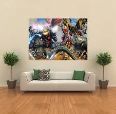 godzilla mothra battra enemies giant wall poster art  on giant wall poster art print with godzilla mothra battra enemies giant wall poster art print c011 ebay