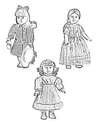 Small Picture American Girl Doll Coloring Page Miakenasnet