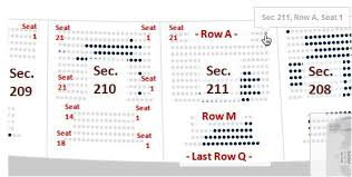 pittsburgh steelers seating chart row and seat numbers