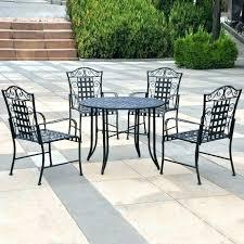wrought iron patio table metal medium size of furniture used round rectangular i