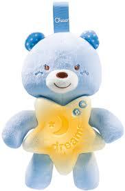 <b>Игрушка</b>-<b>подвеска Chicco Медвежонок</b> цвет голубой — купить в ...