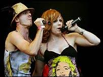 Entertainment | Scissor Sisters scoop top album - BBC NEWS