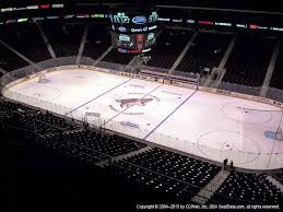 Gila River Stadium Seating Chart Gila River Arena View From Upper Level 213 Vivid Seats
