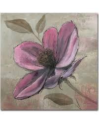 trademark fine art plum floral iii canvas wall art  on plum flower canvas wall art with incredible summer sales on trademark fine art plum floral iii
