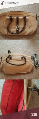 Sale this weekend on Taupe Q Bag Taupe color with decorative front lock  latch in front