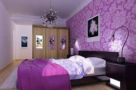 Light Purple Bedroom Purple Bedroom Decorations With Wall Pattren Art House