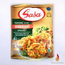 Tepung bumbu sasa 250gr bakwan spesial: Sasa Tepung Bakwan Special