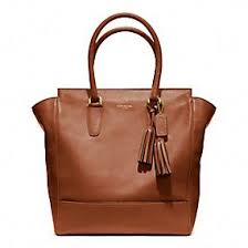 Coach legacy tanner leather tote