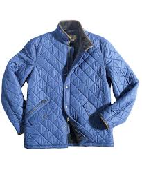 Mens Barbour Powell Quilted Jacket - Black In Discount | Barbour ... & Mens Barbour Powell Quilted Jacket - Mid Blue In Discount Adamdwight.com