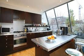 Make Stainless Steel Countertop Kitchen Stainless Steel Countertops With White Cabinets